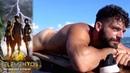 ¡Adrián nada desnudo en su balsa Reto 4 Elementos segunda temporada