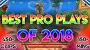 THE ULTIMATE BEST CSGO PRO PLAYS OF 2018! 150 MINUTES OF HIGHLIGHTS