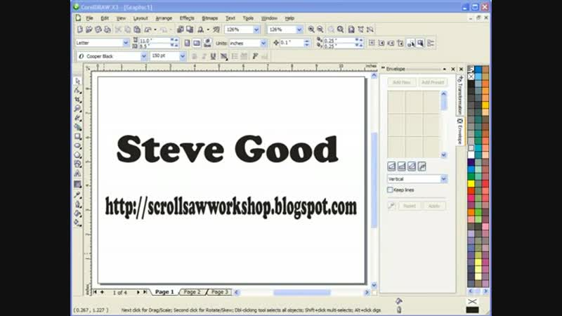 Another Corel Draw tool for Crea