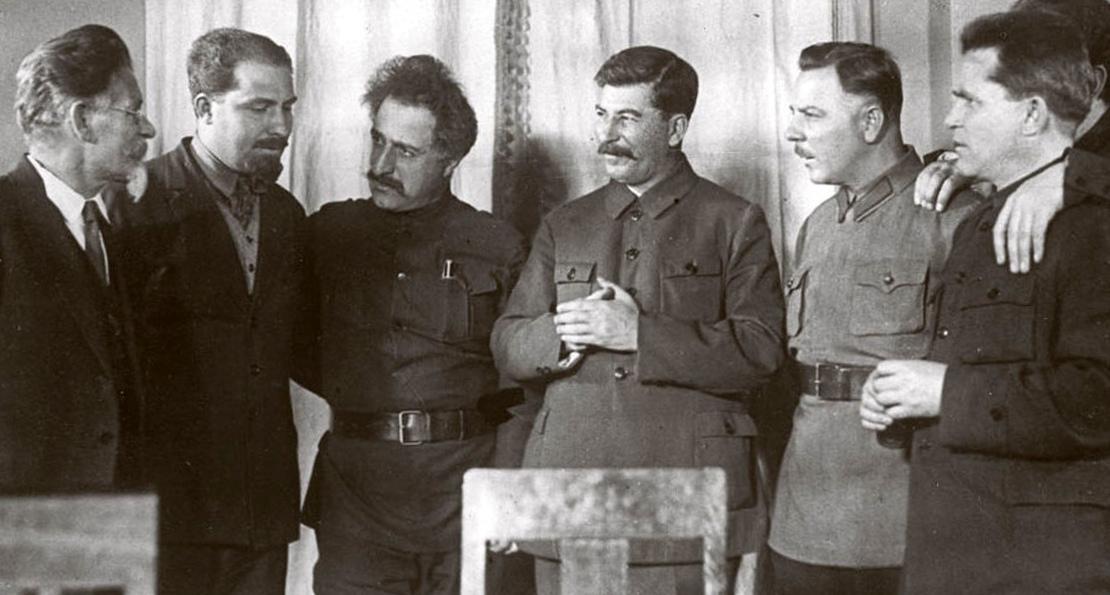 Сталин и соратники