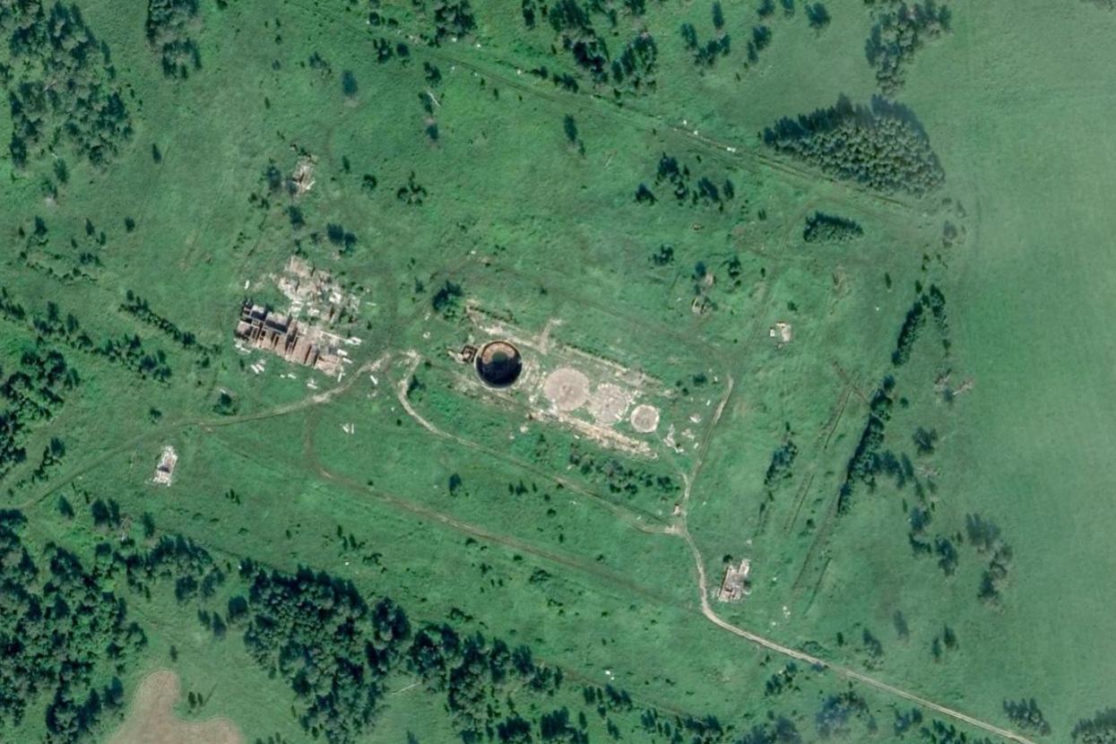 Командный пункт высоко защищённый 35 ракетной дивизии Ракетных войск стратегического назначения