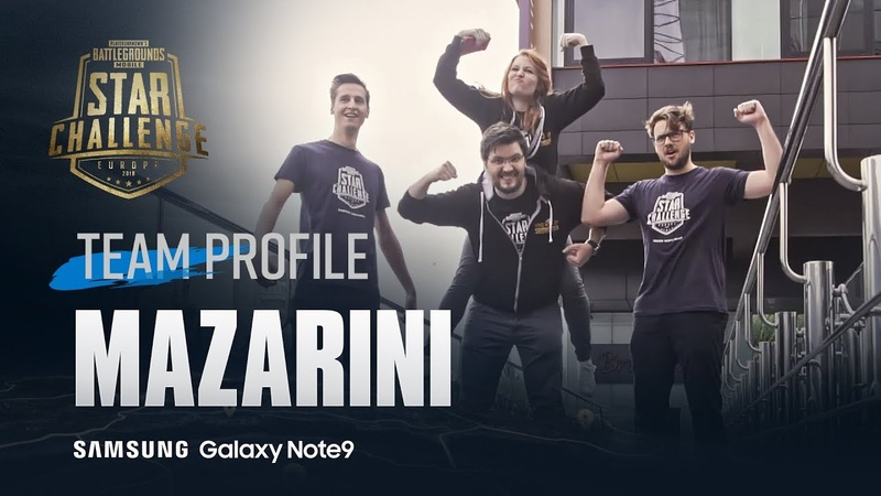 Mazarini - Team profile | PUBG MOBILE STAR CHALLENGE – EUROPE FINAL