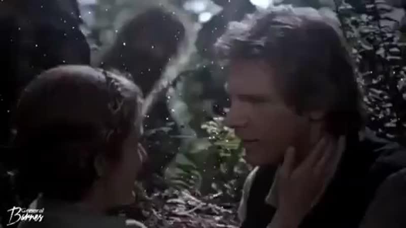 Star wars vine ▸ han solo x leia organa