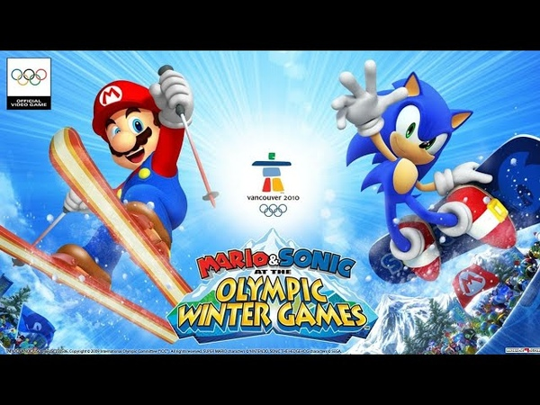 Mario and Sonic At The Olympic Winter Games Wii Full Game Walkthrough