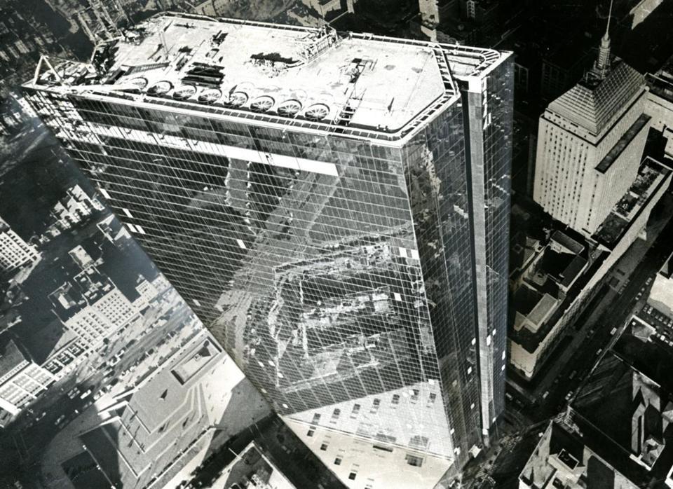 История первого стеклянного небоскреба в США