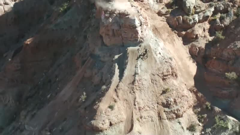 Andreu Lacondeguy 2nd place run at Red Bull Rampage 2018