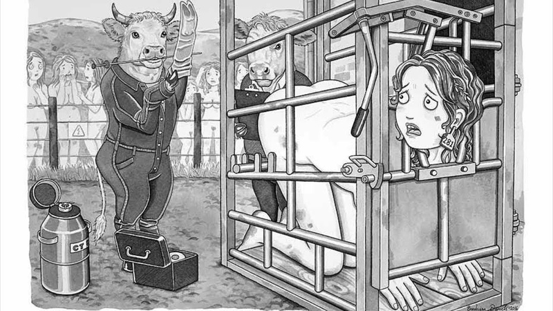 Artist Reverses The Role Of Human And Animals [Parallel World]