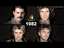 QUEEN AGING TOGETHER 1968-2018 | Faces Songs One Per Year