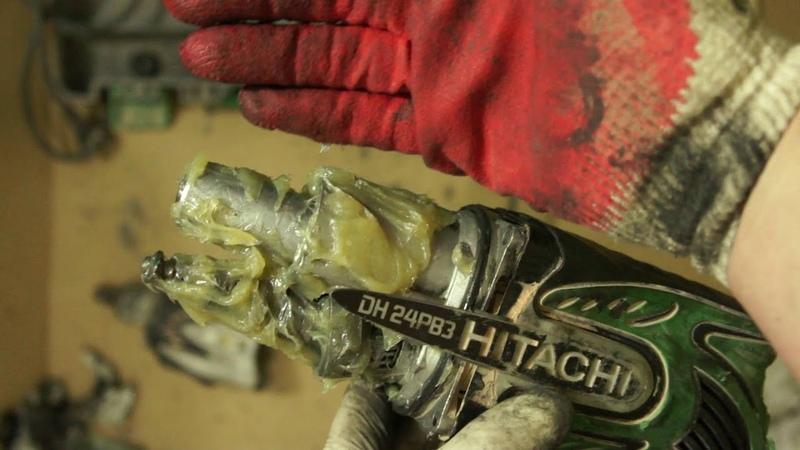 Сломался перфоратор HITACHI DH 24PB3 (часть 5)