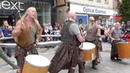 Bagpipes And Drums Music Of Best Scottish Tribal Bands City Centre Of Perth Perthshire Scotland
