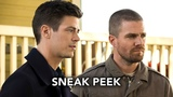 DCTV Elseworlds Crossover Sneak Peek #3 - Superman and Lois Lane Meet Barry &amp Oliver (HD)