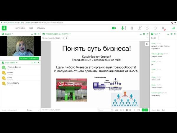 Запуск новичка Деккер Татьяна