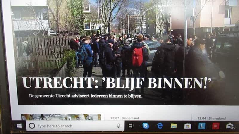 Blijf binnen!.... behalve om te gaan stemmen op Mark Rutte!