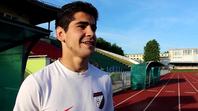 Мухаммаджон Лоиков: Четыре игры хотел забить гол, и сегодня ощутил некую легкость