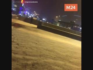 В Москве пошёл первый снег