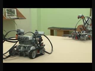 «Классная битва»: робот от учеников дивногорской гимназии №10