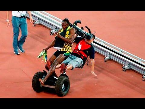 Les moments insolites de l'Athlétisme