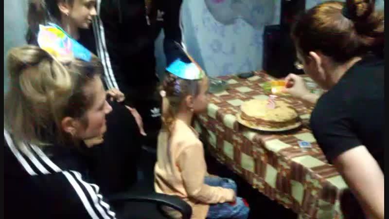 день рожденье доченьки! 5 лет