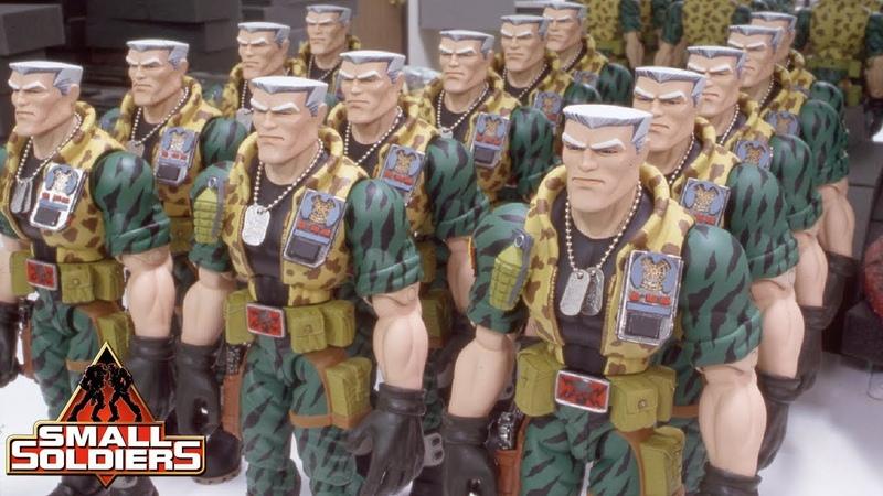 SMALL SOLDIERS - Chip Hazard Rod Puppet Rehearsal at Stan Winston Studio
