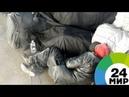 Парикмахерская и прачечная: как в Москве помогают бездомным - МИР 24