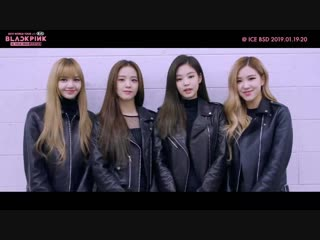 Blackpink message to blinks in indonesia