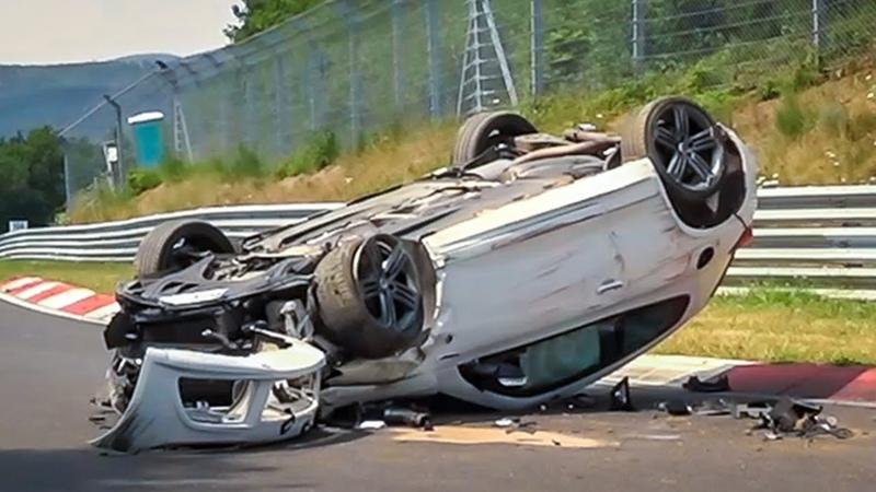 NÜRBURGRING CRASH COMPILATION 2018 - Nordschleife Crashes Fails Touristenfahrten VLN