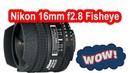Nikon 16mm f2.8 Fisheye ✅ краткий обзор фишая, отзыв