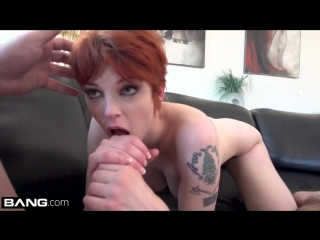Red haired woman, Bree Daniels took on a big dick and did some miracles with it