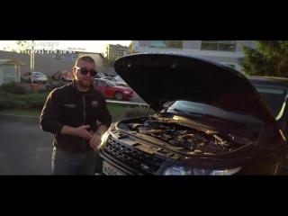 Обзор нового Рендж Ровер Спорт с бензиновым двигателем 3.0 л суперчардж