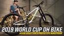 2019 World Cup DH Bike - Adam Brayton's Prototype Nukeproof