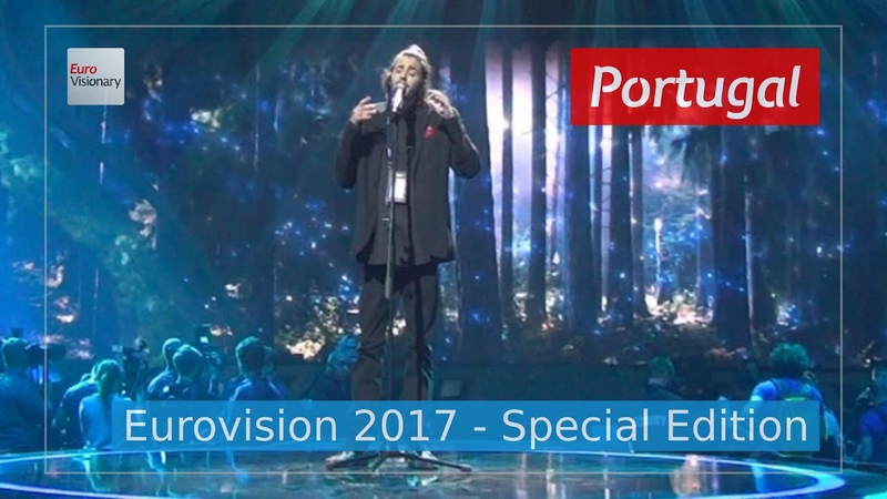 Salvador Luisa Sobral Amar Pelos Dois Portugal Eurovision 2017 Seen from 4 angles Duet