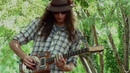 ROOSTER BLUES by Justin Johnson 7-15-12 | busking street performer