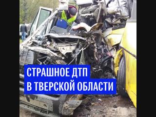 Страшное ДТП в Тверской области