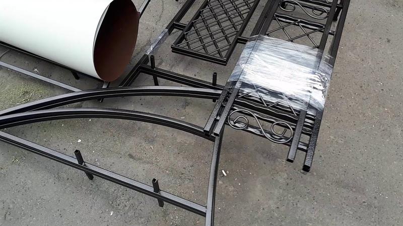 Наш продукт: Мангал под крышей МК-2