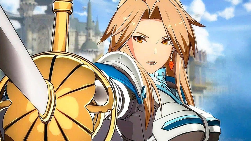 GRANBLUE FANTASY VERSUS Gameplay Trailer - New Fighting Game by Arc System Works (PS4)