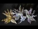 УКРАШЕНИЕ к праздникам и торжествам, мастер класс, КАНЗАШИ / DIY Ribbon Flower Kanzashi