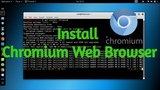 Kali Linux - Install Chromium Web Browser How to