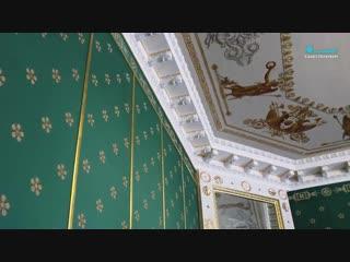 В Елагином дворце завершают реставрацию кабинета Александра I. (19.12.2018)