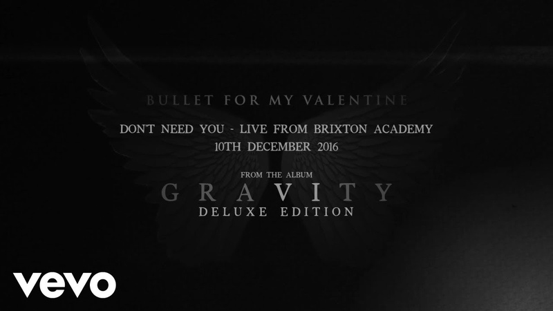 Bullet For My Valentine - Dont Need You (Live From Brixton Academy Audio)