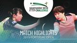 Hina Hayata vs Hu Limei 2019 ITTF Challenge Plus Portugal Open Highlights (12)