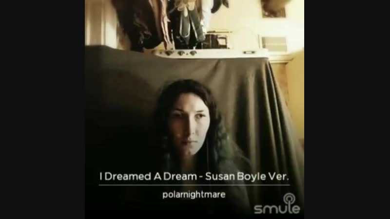 I dreamed a dream, Susan Boyle vers.
