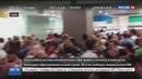 Новости на Россия 24 Сбой в работе системы погранконтроля привел к коллапсу в аэропортах США