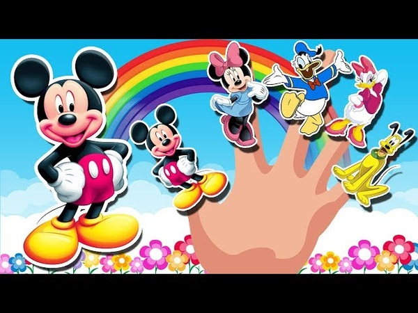 Mickey Mouse Clubhouse Finger Family Song | Nursery Rhymes | Kids Songs