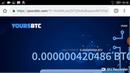 YOURS BTC - FREE 0.1 Bh/s Cloud Mining Bitcoin