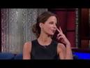 Кейт Бекинсейл учит Американского телеведущего говорить по Русски
