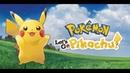 Pokemon: Let's go, Pikachu! День 1. Часть 1