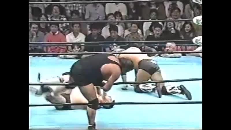 1996.09.28 - Stan Hansen/Bobby Duncum Jr. vs. Gary Albright/Takao Omori [JIP]