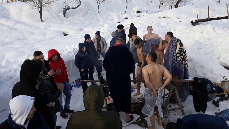 Водохреща 2019 Колочава ( СУХАР )