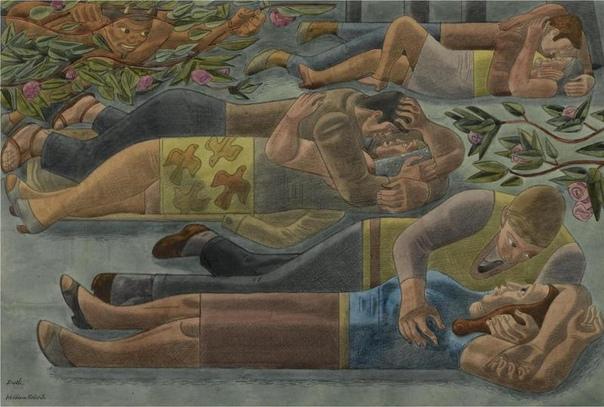 Уильям Патрик Робертс (англ. William Roberts 1895г. Лондон-1980г.) английский художник. https://v.com/album-61546782_232309293