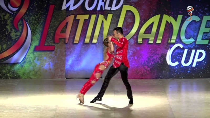 Francesco Valentina, Italia, Bachata Sensual Cabaret Couple Pro, Finals, WLDC 2016